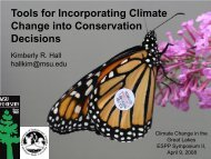 Change into Conservation Decisions