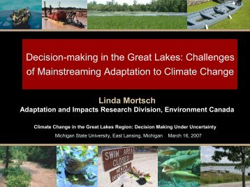of Mainstreaming Adaptation to Climate Change