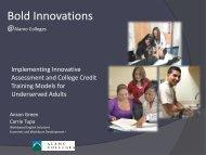 Alamo Colleges - Community College Consortium for Immigrant ...