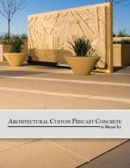 Architectural Custom Precast Concrete