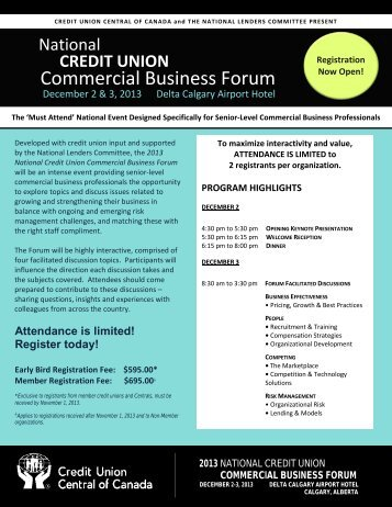 Commercial Business Forum