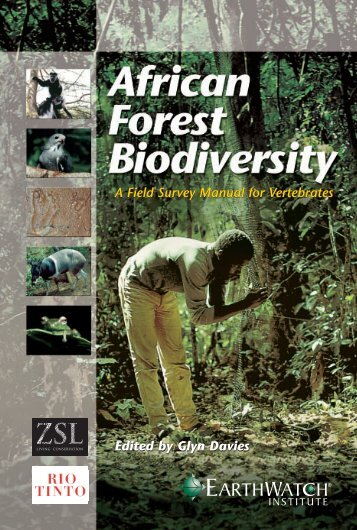 African Forest Biodiversity - Earthwatch Institute