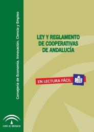 LA LeY y EL REGLAMENTO DE COOPERATIVAS DE ANDALUCÍA