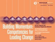 Competencies for Leading Change