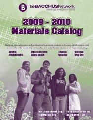 2009 - 2010 Materials Catalog