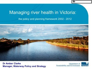 river ecology report