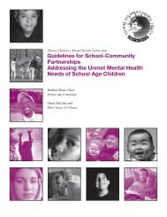 Guidelines for School-Community Partnerships Addressing the ...