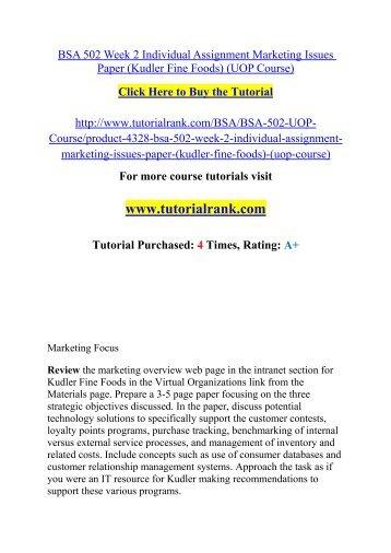 marketing research paper kudler fine foods virtual organization Kudler fine foods research paper kudler fine foods and in the gourmet and fine foods market is kudler fine foods virtual organization of kudler fine foods.