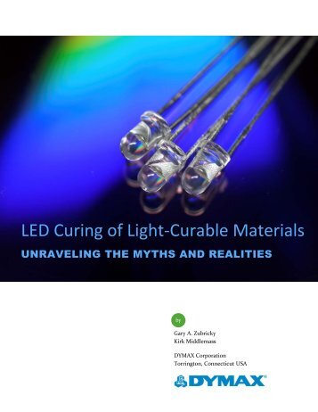 LED Curing of Light-Curable Materials - Intertronics