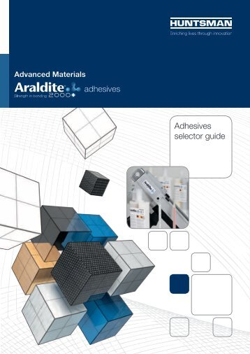 adhesives Adhesives selector guide
