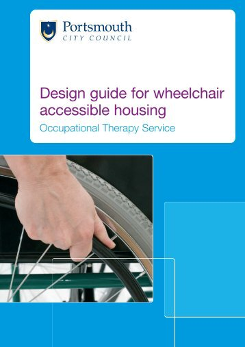 Design guide for wheelchair accessible housing