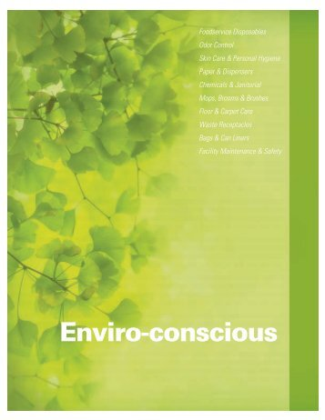 Enviro-conscious