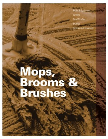 Mops Brooms & Brushes