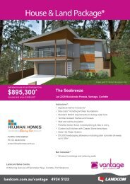 House & Land Package*