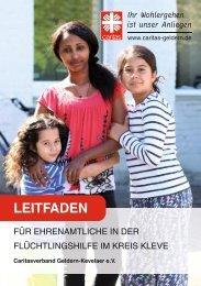 Leitfaden für Ehrenamtliche in der Flüchtlingshilfe im Kreis Kleve