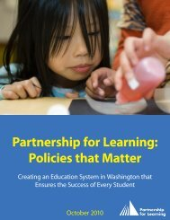 Partnership for Learning Policies that Matter