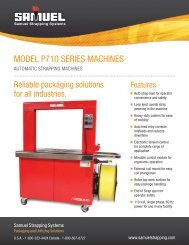 MODEL P710 SERIES MACHINES