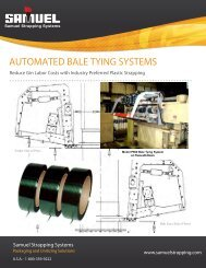 AUTOMATED BALE TYING SYSTEMS