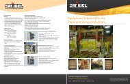 Equipment Solutions for the Panel and Veneer Industries
