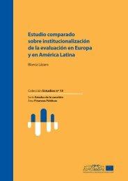de la evaluación en Europa y en América Latina