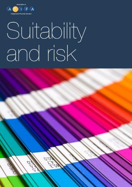 Suitability and risk - Aifa