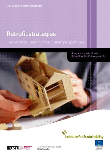 Retrofit strategies