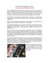 Big Block Chevy Engine Parts Identification