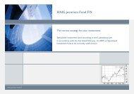 HAIG premium Fund FIS - Swiss Management