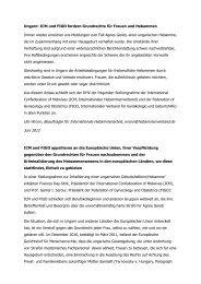Ungarn: ICM und FIGO fordern Grundrechte für Frauen und ...
