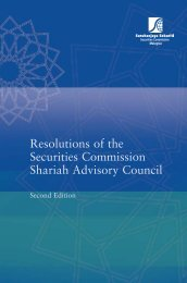 Resolutions of the Securities Commission Shariah Advisory Council