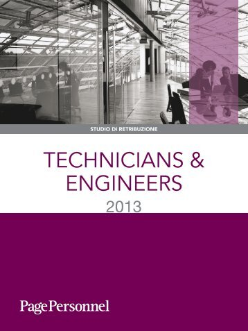 TECHNICIANS & ENGINEERS