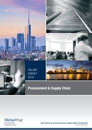 Procurement & Supply Chain
