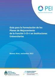 Guía para la autoevaluación - Programa de Evaluación Institucional
