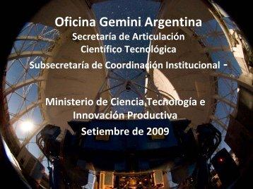 Oficina Gemini Argentina ‐