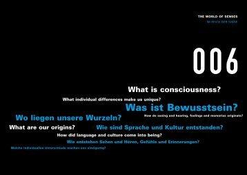 Was ist Bewusstsein? - Túnel de la Ciencia