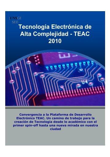 Tecnología Electrónica de Alta Complejidad - TEAC 2010