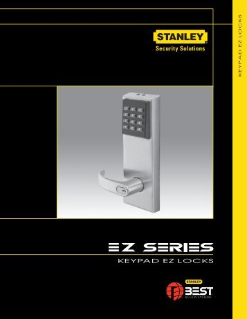Keypad ez locks - Best Access Systems