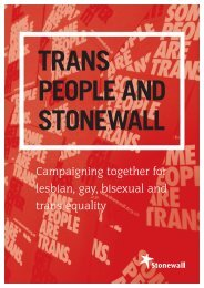 people and stonewall