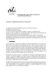 CA N°1 du 04/10/2010 - Lycée Victor Duruy