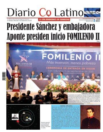 Edición 9 de Septiembre de 2015
