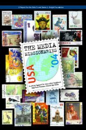 Media Missionaries - Ellen Hume