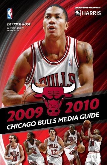 2010 2009 chicago bulls media guide - NBA.com
