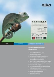 KNX Gateway RS232/485-IP - ELKA-Elektronik GmbH