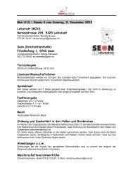 Mini U13 - Runde 3 vom Sonntag, 9. Dezember 2012 Leibstadt ...