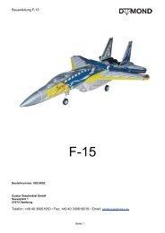 Anleitung zu F-15 - Staufenbiel