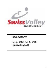 U10 U12 U14 U16 (Minivolleyball)