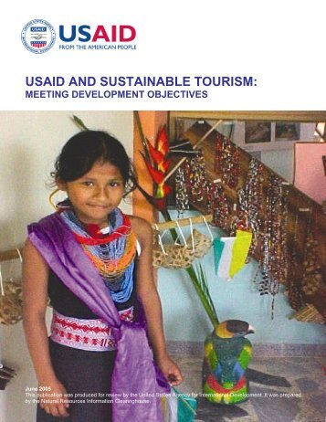 USAID and Sustainable Tourism: Meeting Development Objectives