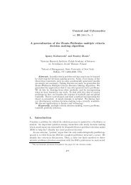 A generalization of the Zionts-Wallenius multiple criteria decision ...