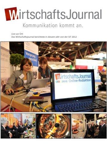 Live von der SIT 2012 - Wirtschaftsjournal