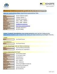 öffentliches Verfahrensverzeichnis ansehen und downloaden